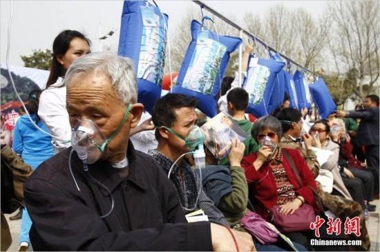 Как в Китае свежим воздухом дышат