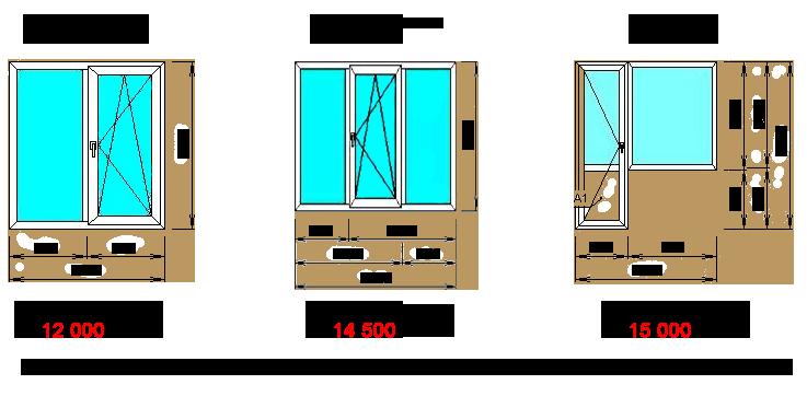 Новый гост 56926 2016 на окна и балконы в жилых зданиях.