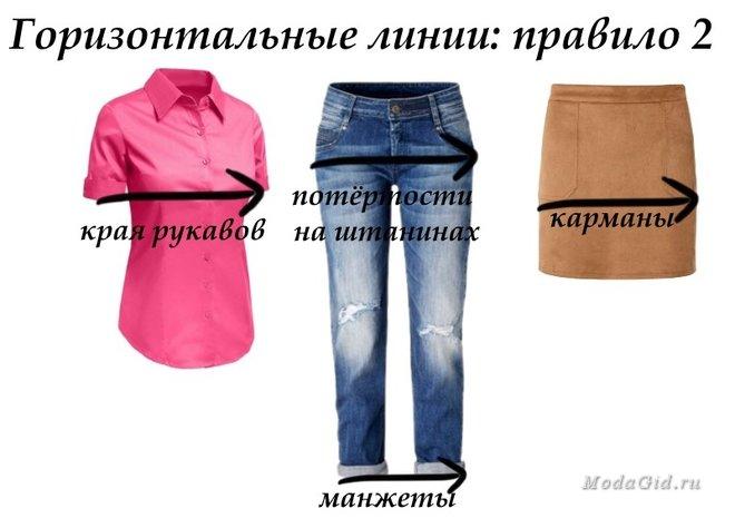 Маленькие секреты одежды -- как зрительные иллюзии могут сбалансировать вашу фигуру
