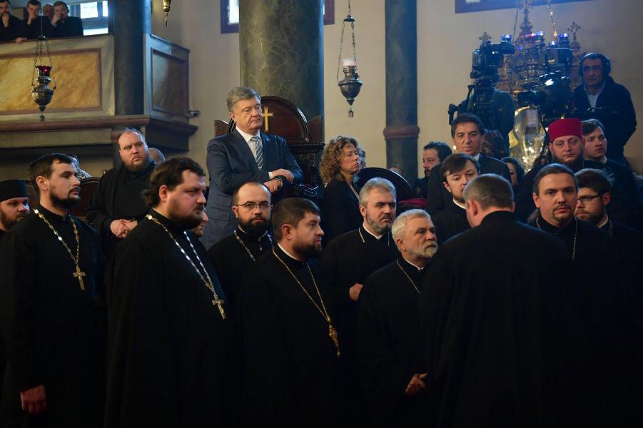 Почему главы поместных церквей не поздравили предстоятеля ПЦУ митрополита Епифания?