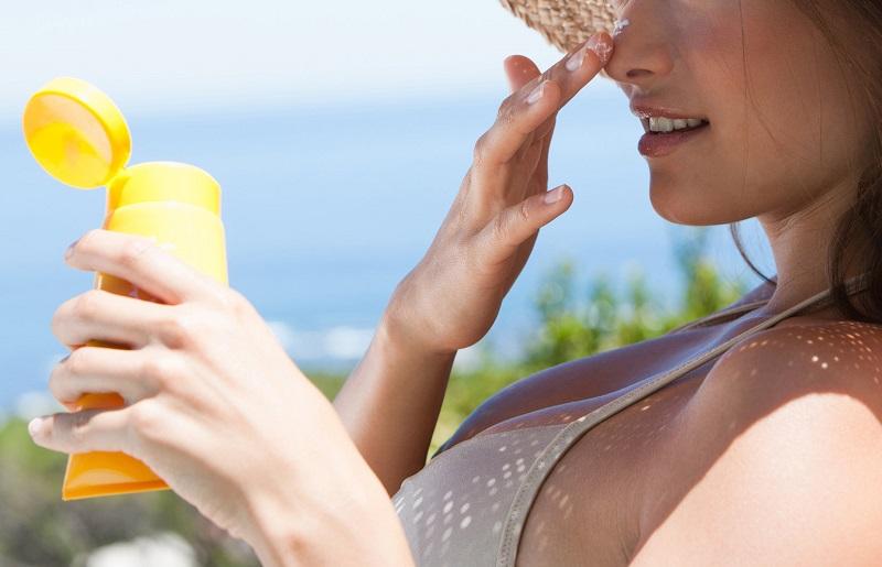 как убрать солнечный ожог на лице