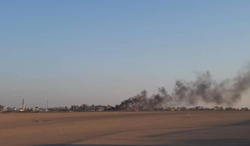 Авиация Хафтара уничтожила турецкий БПЛА