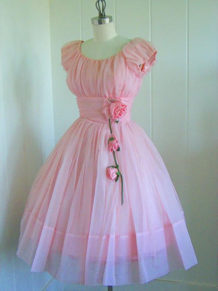 платья в стиле ретро на выпускной