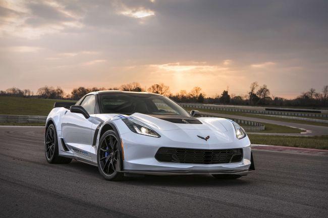 Chevrolet для Corvette подготовила юбилейную версию