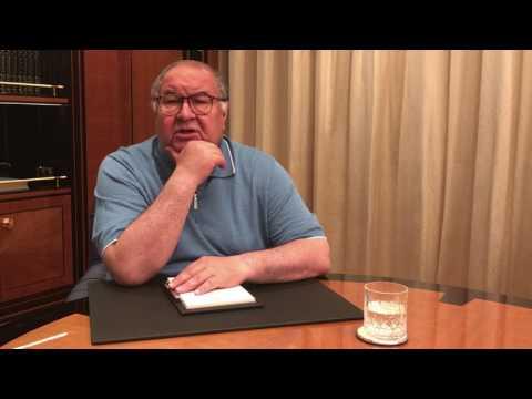 «Круто, потому что по-мужски» Захарова прокомментировала видеообращение Усманова к Навальному