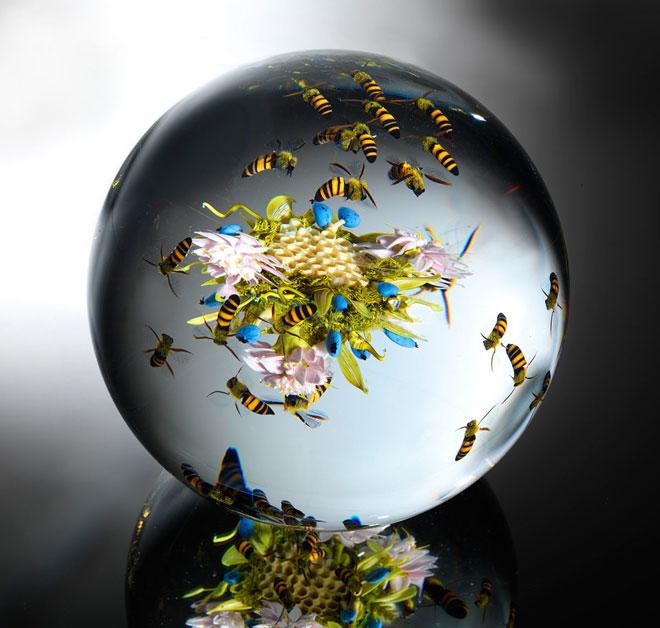 Стеклянный мир: Уникальные шедевры мастера-стеклодува