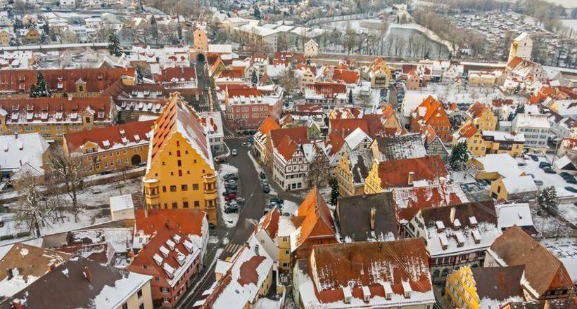 Нёрдлинген — средневековый городок в Германии, который построили из алмазов