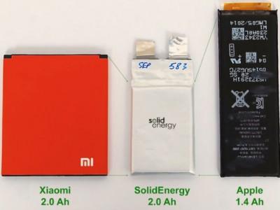 SolidEnergy Systems совершит революцию в автономности смартфонов