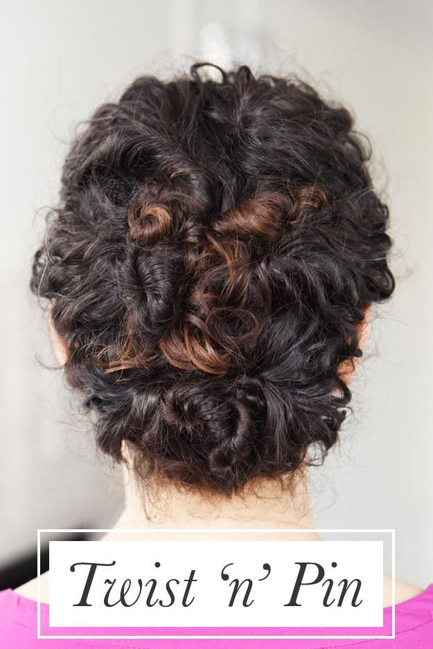 Прическа из жгутов волосы, кудри, прическа