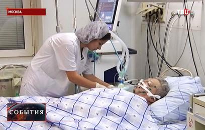 Пострадавший в Алеппо педиатр доставлен в госпиталь Бурденко в Москве