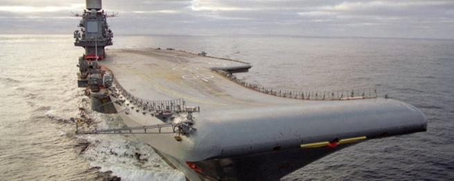 «Адмирал Кузнецов» заставил Запад сменить подштанники