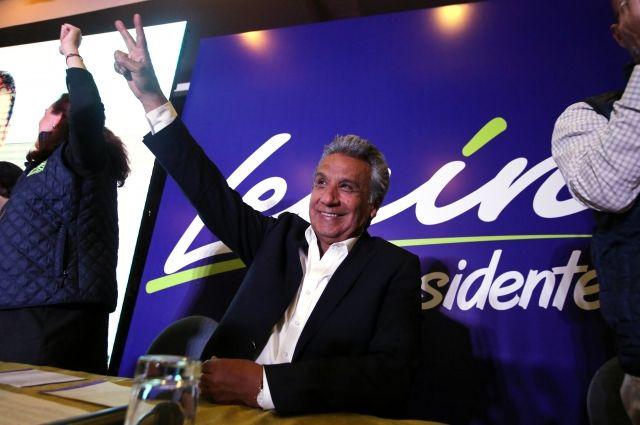 На выборах президента Эквадора лидирует Ленин Морено