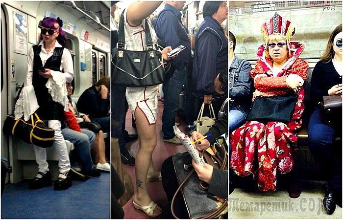 Снимки, которые доказывают, что метро круче любого модного подиума