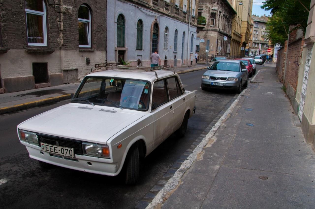 ВАЗ 2105 в Будапеште