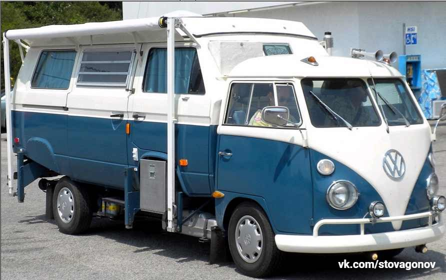 Подборка невероятного тюнинга микроавтобусов VW