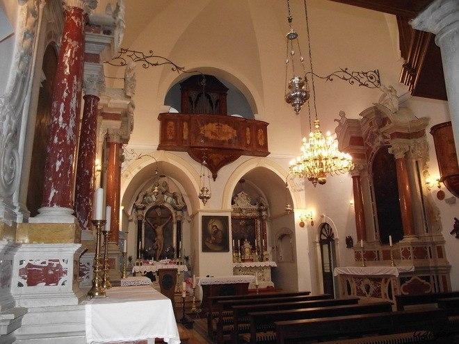 Монастырь Висовац в Хорватии