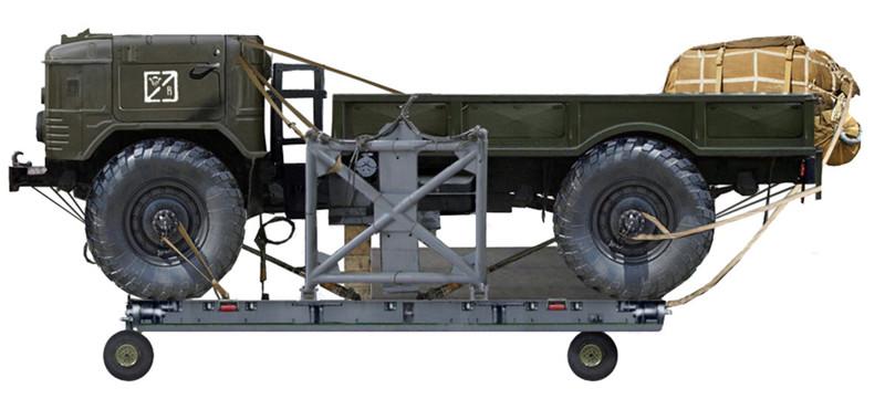 ГАЗ 66Б на десантной платформе. авто, история, факты