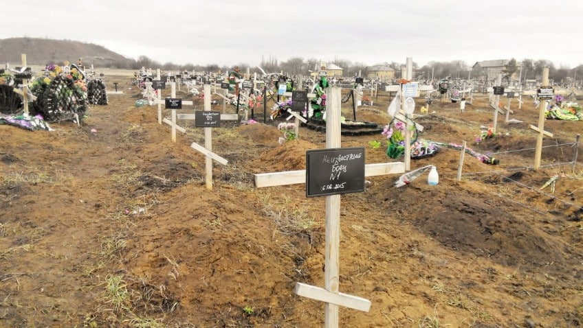 В Николаеве негде хоронить: все места на кладбище заняли «АТОшники»