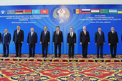 Киев выступил против председательства России в СНГ