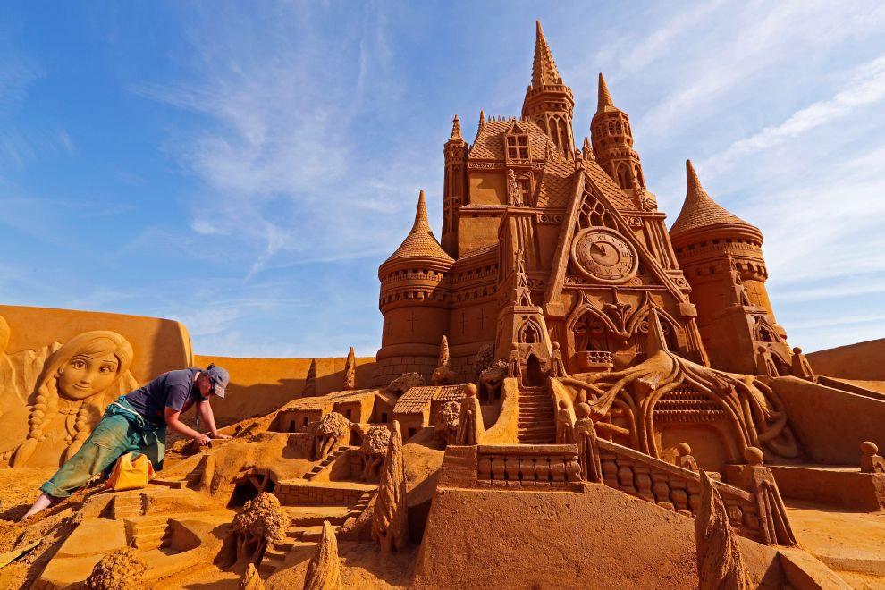 Волшебный песчаный мир Диснея 2017