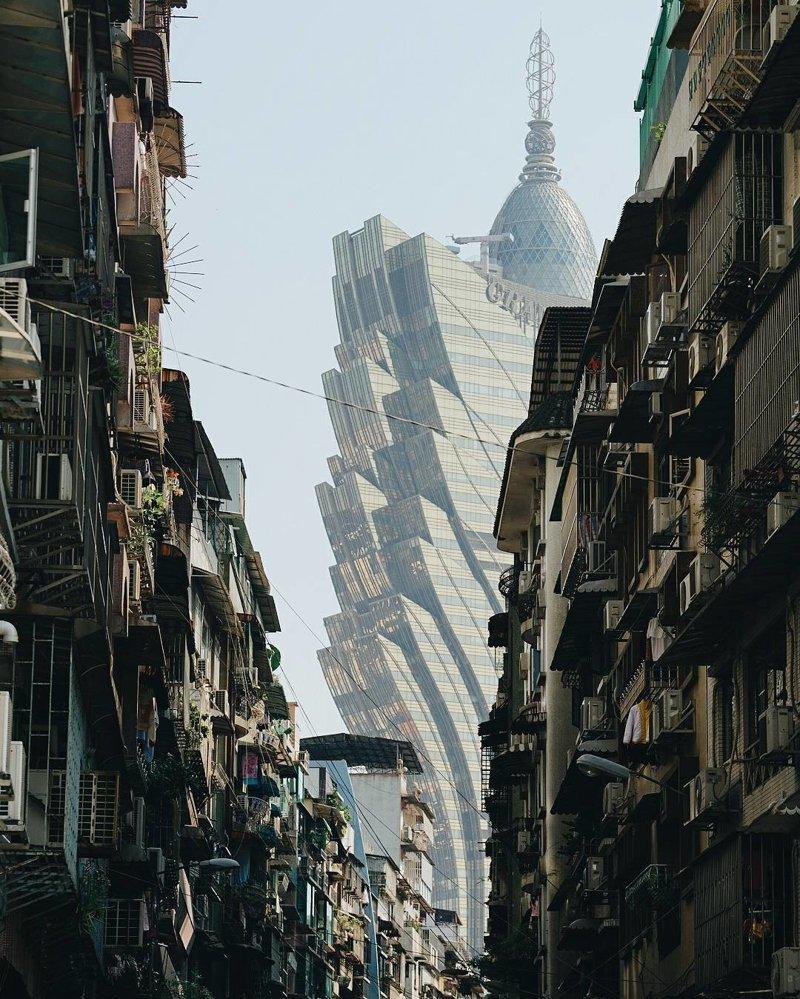 """""""Воспоминания о будущем"""": Гонконг в объективе фотографа Нуну Асиша"""