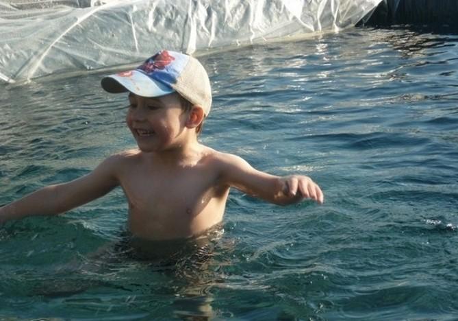 Эконом вариант дачного бассейна