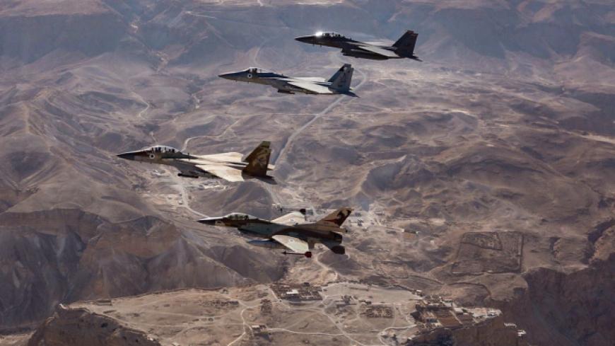 В Израиле рассказали о судьбе ракет, которыми Сирия пыталась поразить F-16