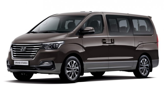 Новый Hyundai H-1 появится в России во втором квартале 2018 года