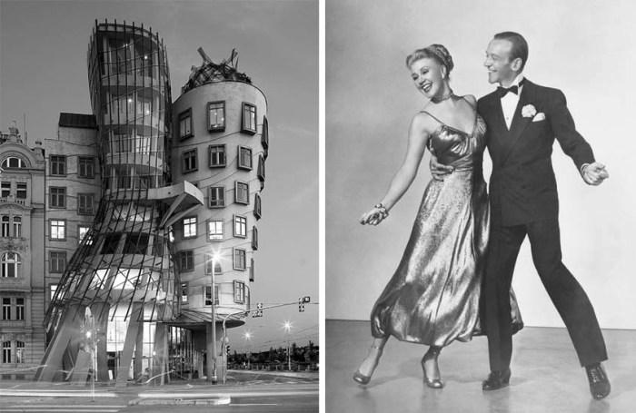 Танцующий дом в Праге: «Cумасшедший» проект, увековечивший память великих танцоров