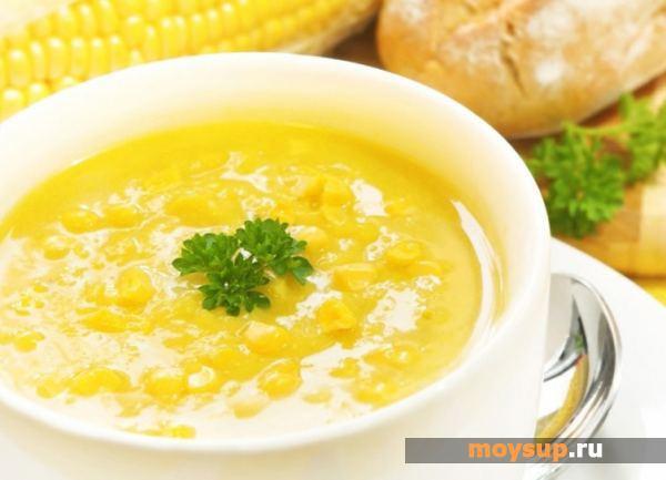 Золотой обед — кукурузный суп на любой вкус