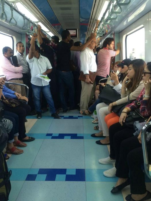 Джентльмены в транспорте.