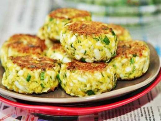 Яичные котлеты с зеленью- вкусно,просто и недорого
