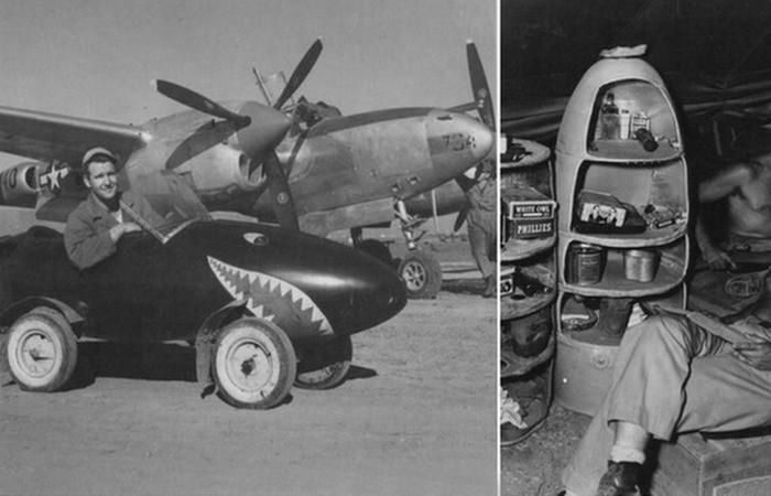 Автомобили: История авиации: как из боевых самолётов делали яхты, курятники и другие мирные вещи