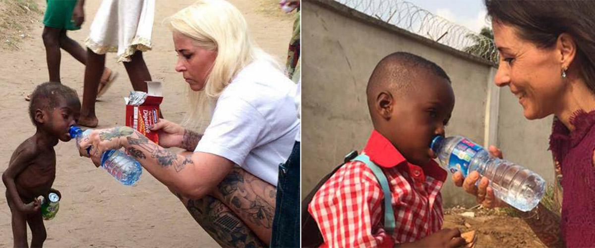 Спасенный от смерти на улице нигерийский мальчик-«колдун» пошел в школу