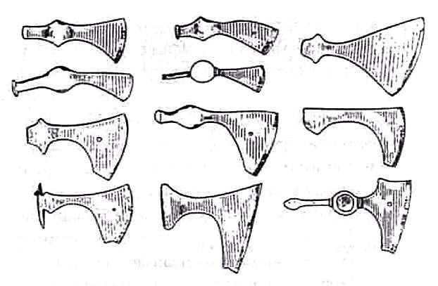 Топоры древних славян