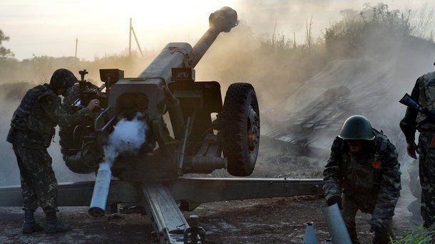 ВСУ обстреляли ЛНР из крупнокалиберной артиллерии