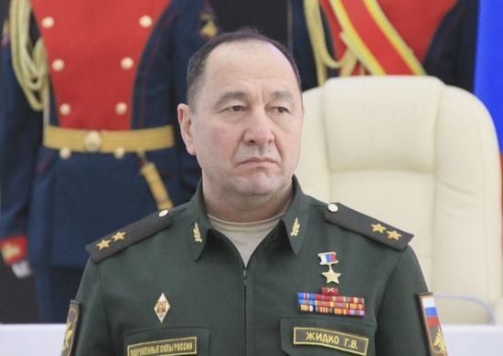 Командующим войсками ВВО назначен воевавший вСирии Геннадий Жидко