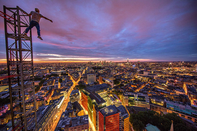 Лондон с высоты крыш