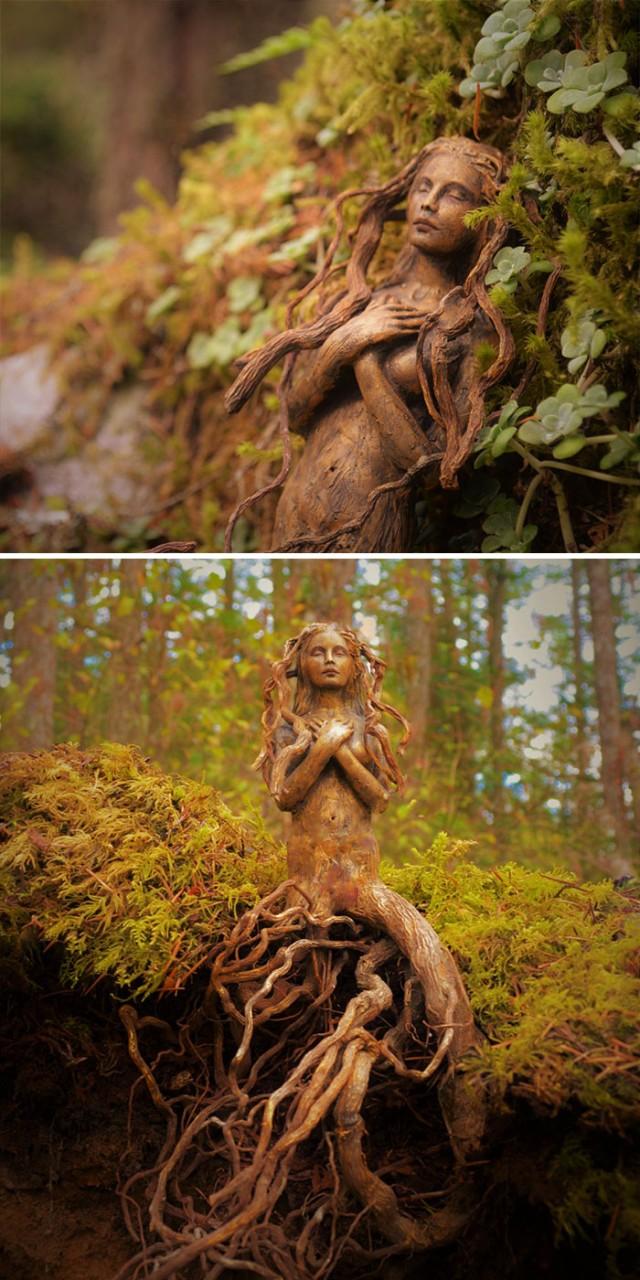 10+ Stunning Driftwood Sculptures By Debra Bernier Tell The Forgotten Stories Of The Ocean