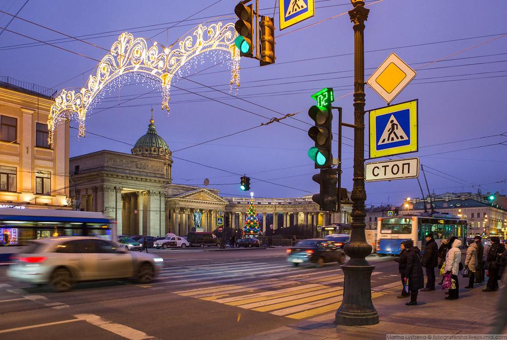 Санкт-петербург в ожидании праздника