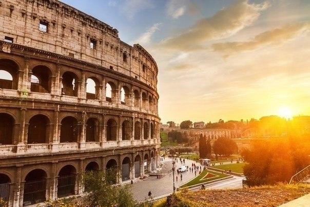 Манящий красотой Рим!
