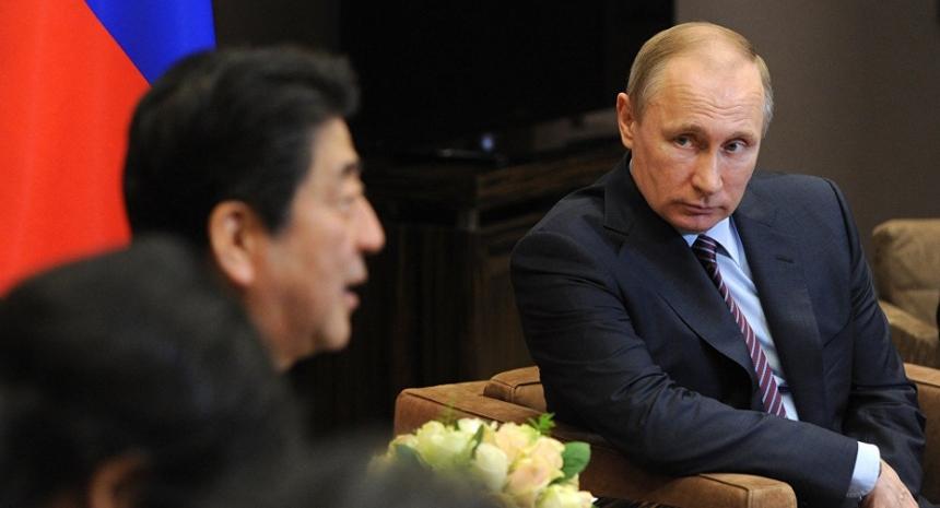 Путин озвучил варианты решения спора с Японией по Курилам