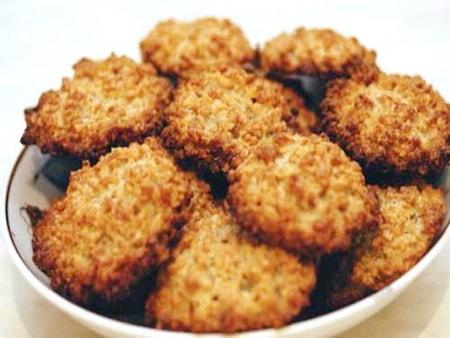 фото к рецепту овсяно-медового печенья