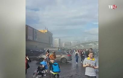 """Медики рассказали о состоянии пострадавших при пожаре в """"РИО"""""""