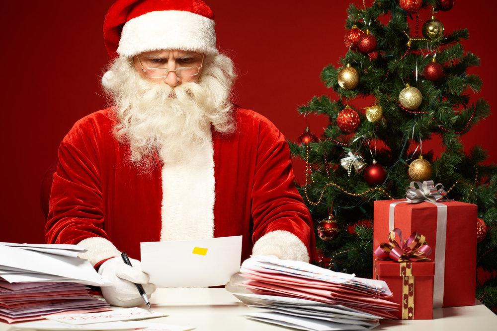 Названы регионы, где чаще всего пишут Деду Морозу