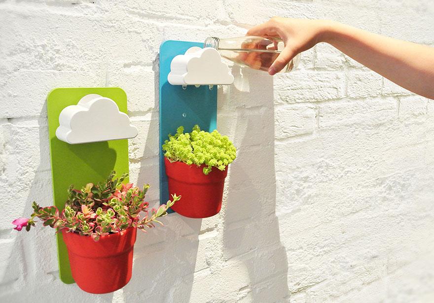 Поилка для цветов. Любители комнатных растений придут в восторг!