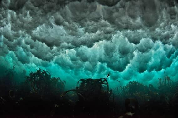 Подводные штормы море, океан, ужасы