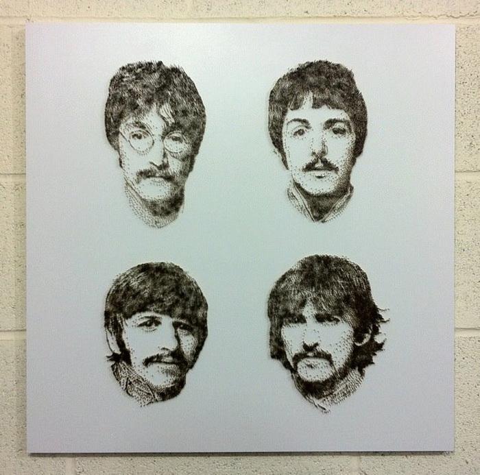 The Beatles. Портреты музыкантов от Дэвида Фостера (David Foster)