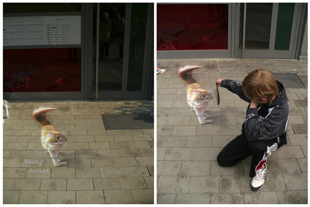3d 19 Уличные 3D рисунки Николая Арндта