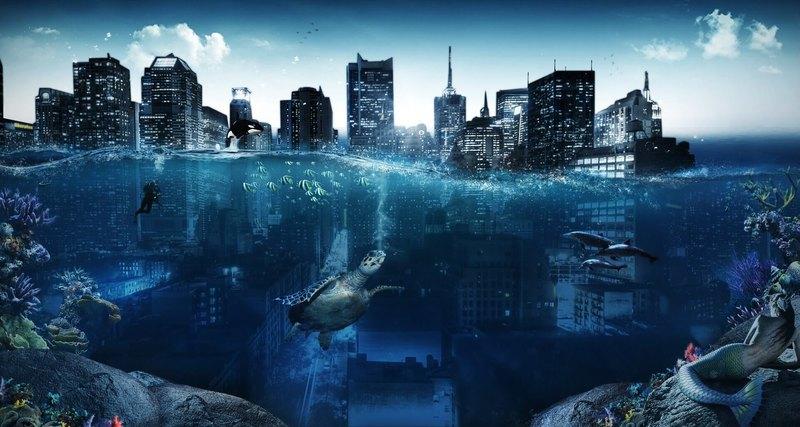 Глобальное потепление затопит полмиллиарда человек
